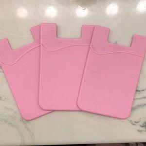 Accessories - Pink Phone Case Wallet Sticker